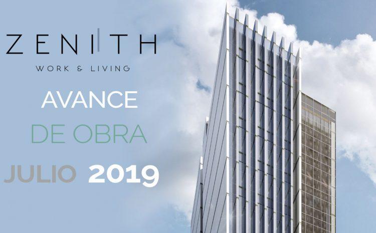 Avance de Obra – JULIO 2019 – Zenith