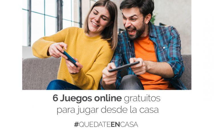 6 Juegos online gratuitos para jugar desde la casa