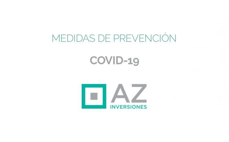 COVID-19 – Extremando al máximo las medidas de seguridad ante la pandemia