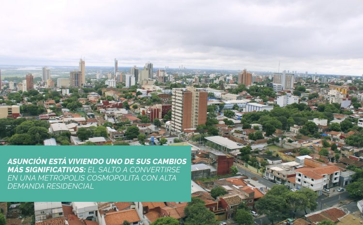 El centro de Asunción se reinventa para ofrecer nuevos estilos de vida