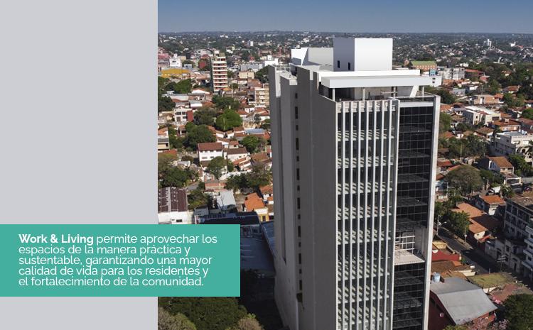 Tendencia mundial llega a Paraguay: Vivir y trabajar en un mismo lugar